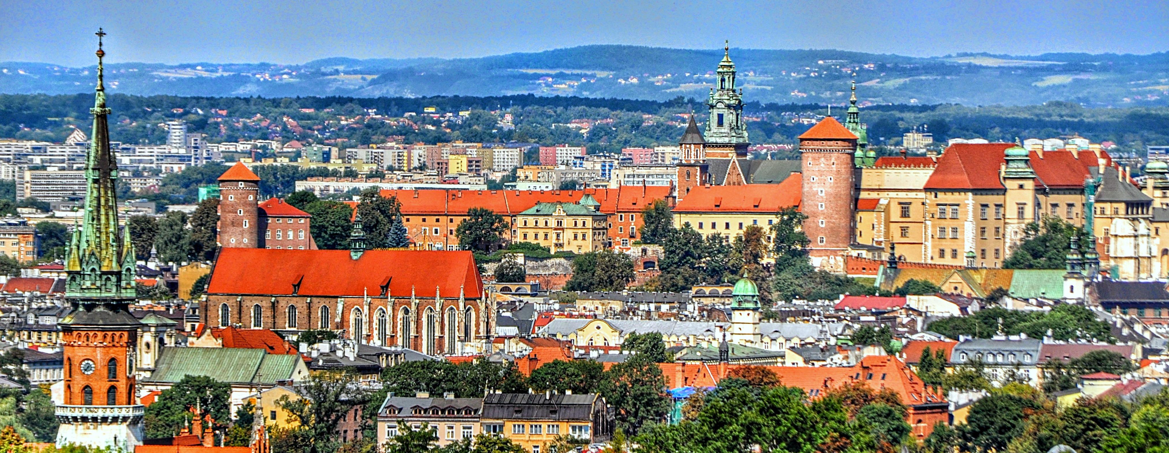 Kraków cityscape
